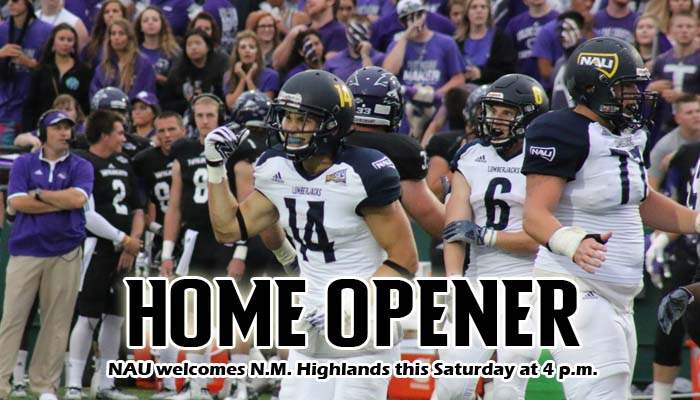 Lumberjack Football Welcomes New Mexico Highlands In Home Opener