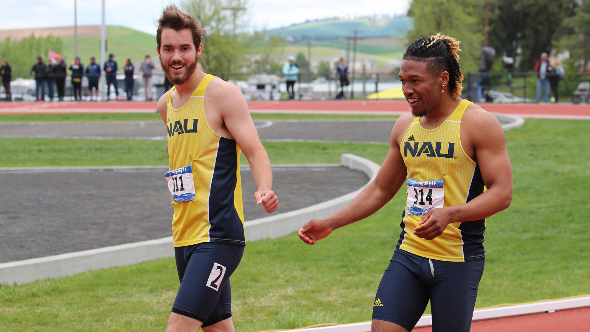 Men's Track and Field to Enter NCAA West Prelims Ranked 16th in Nation -  Northern Arizona University Athletics