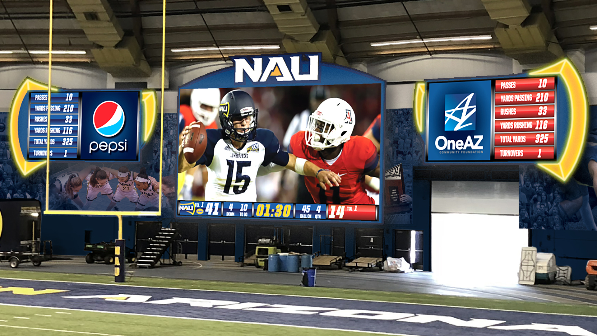 Nau Athletics To Unveil New Led Video Display At Skydome