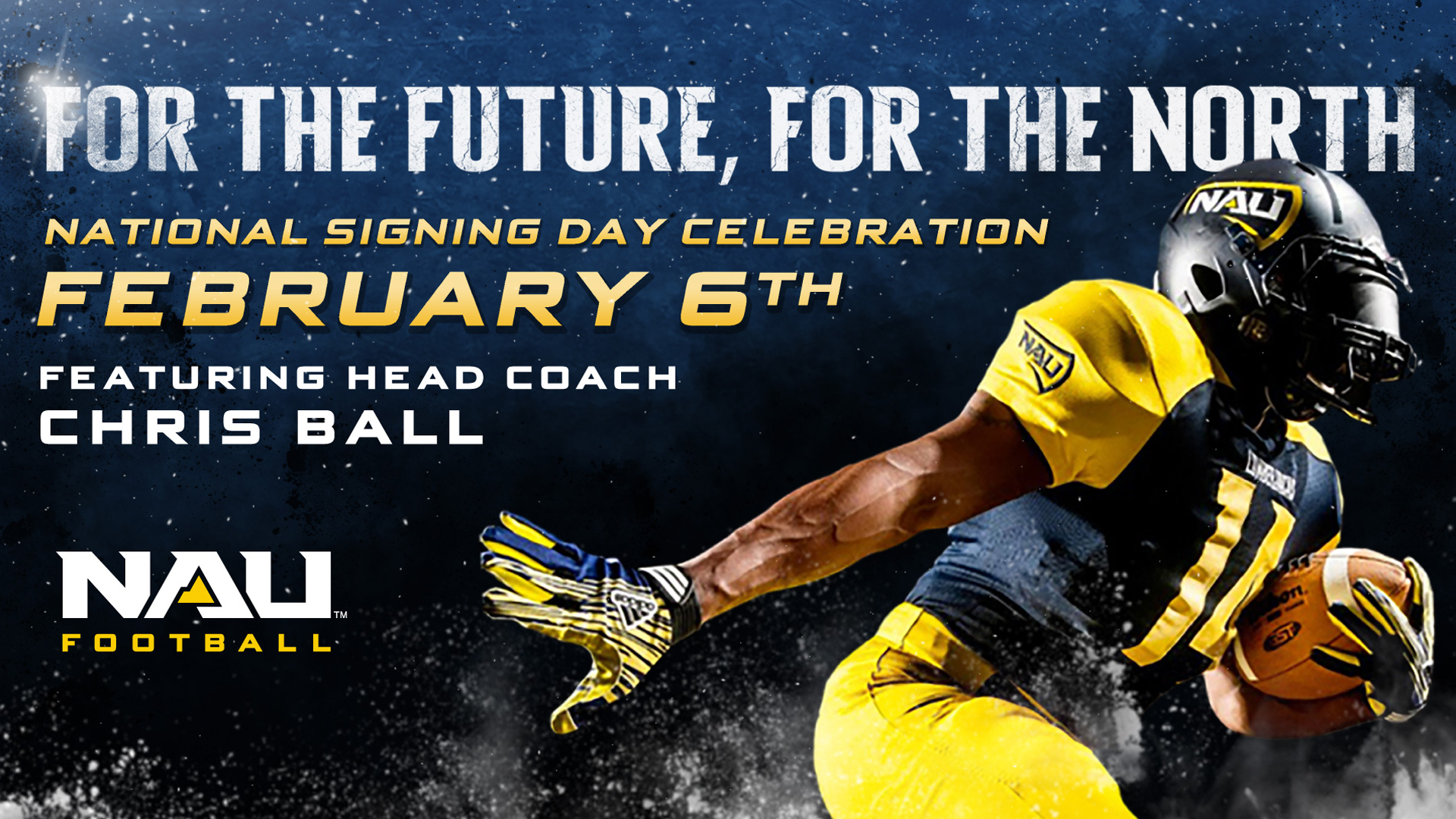 Nau Football National Signing Day Celebration Event To Be Held On