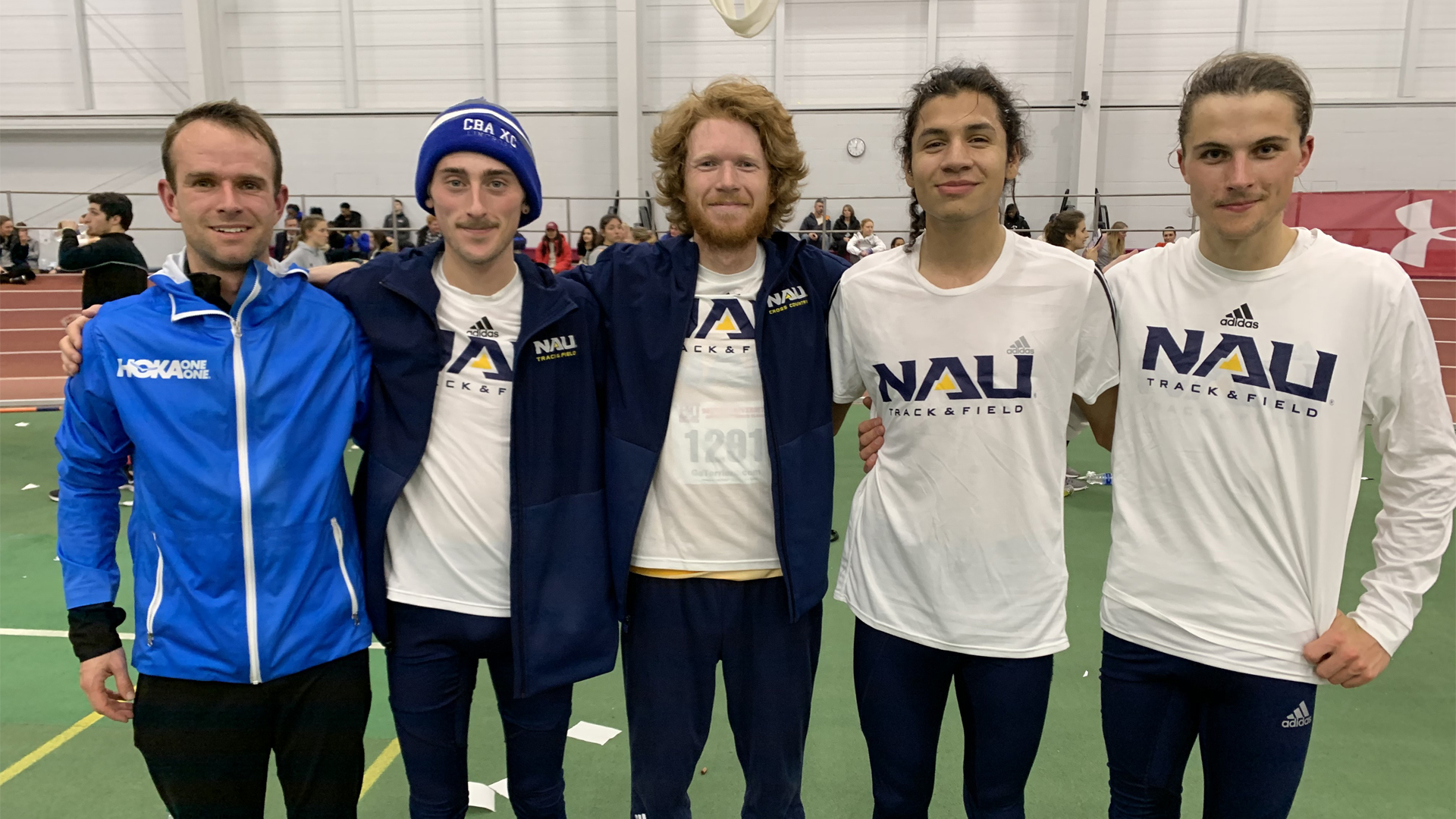 Tyler Day Sets New American Collegiate Record in the Men's Indoor 5K