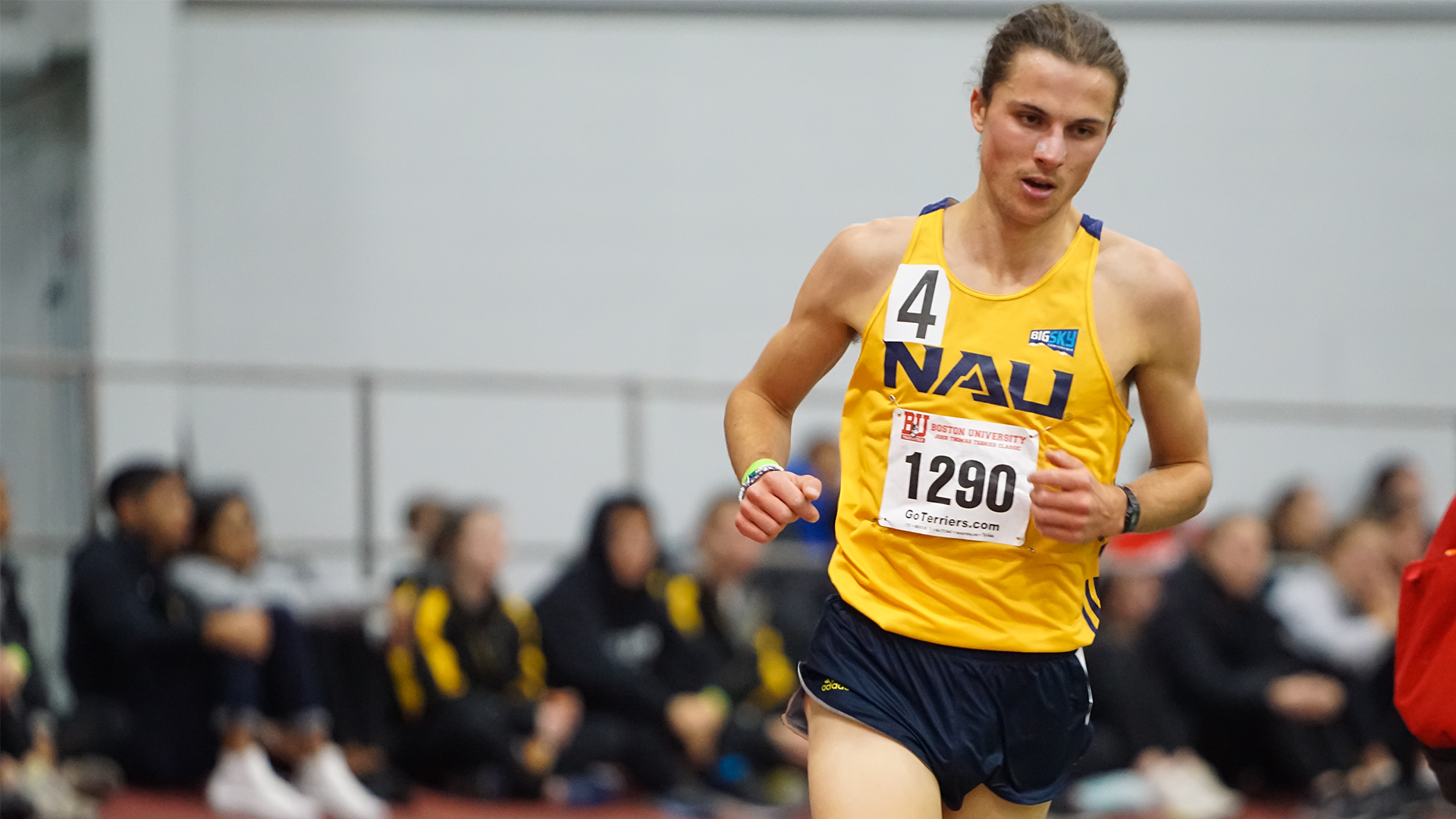 NAU Men's Indoor Track & Field Ranked No. 13 in Latest USTFCCCA National Coaches' Poll